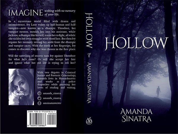 Amanda Sinatra Hollow YA vampire fiction