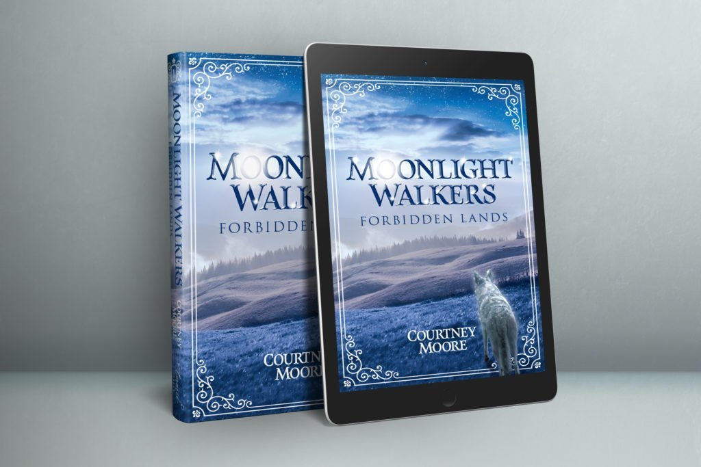 Courtney Moore Moonlight Walkers Forbidden Lands Paperback, Hardcover and Kindle