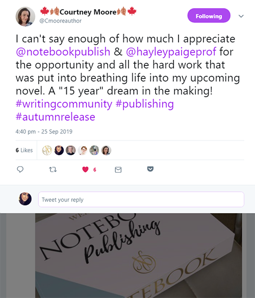 Notebook Publishing Testimonials 27