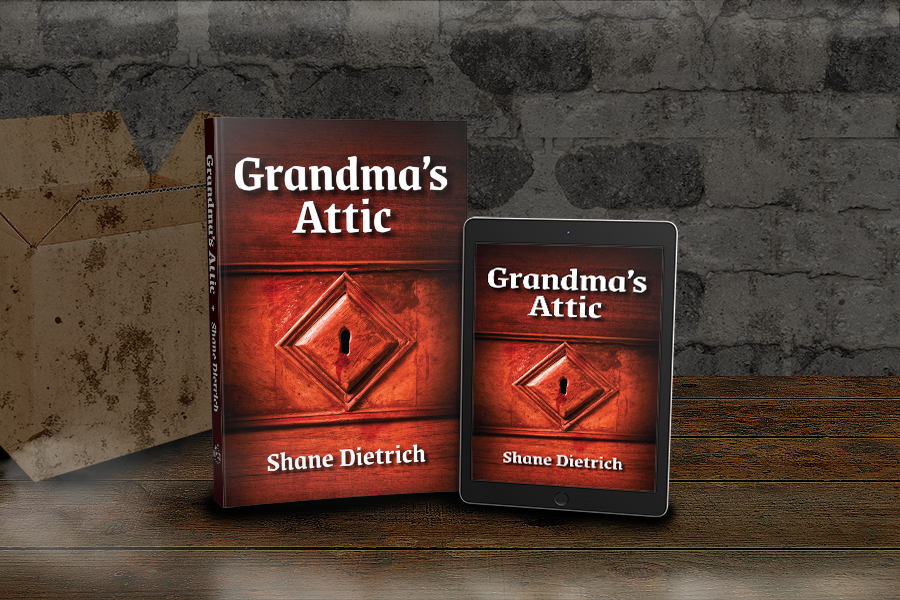Cover Reveal: 'Grandma's Attic' by Shane Dietrich 2