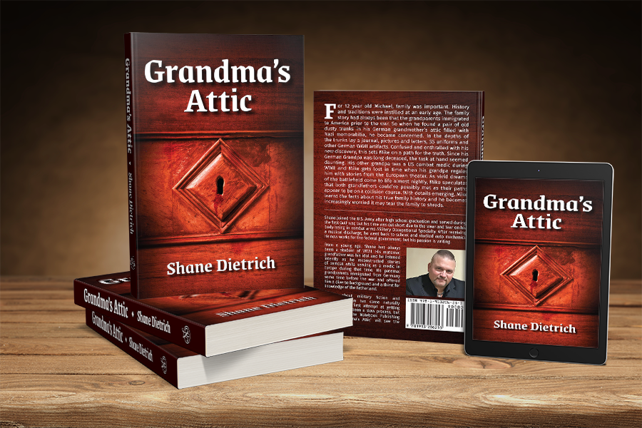 Cover Reveal: 'Grandma's Attic' by Shane Dietrich 3