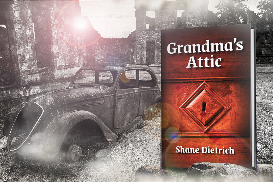 Cover Reveal: 'Grandma's Attic' by Shane Dietrich 1