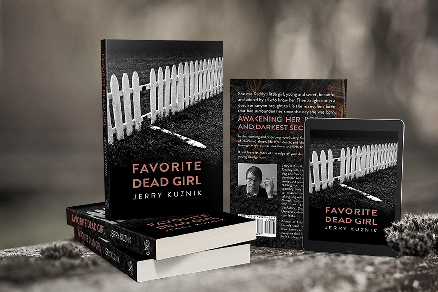 Cover Reveal: 'Favorite Dead Girl' by Jerry Kuznik 2