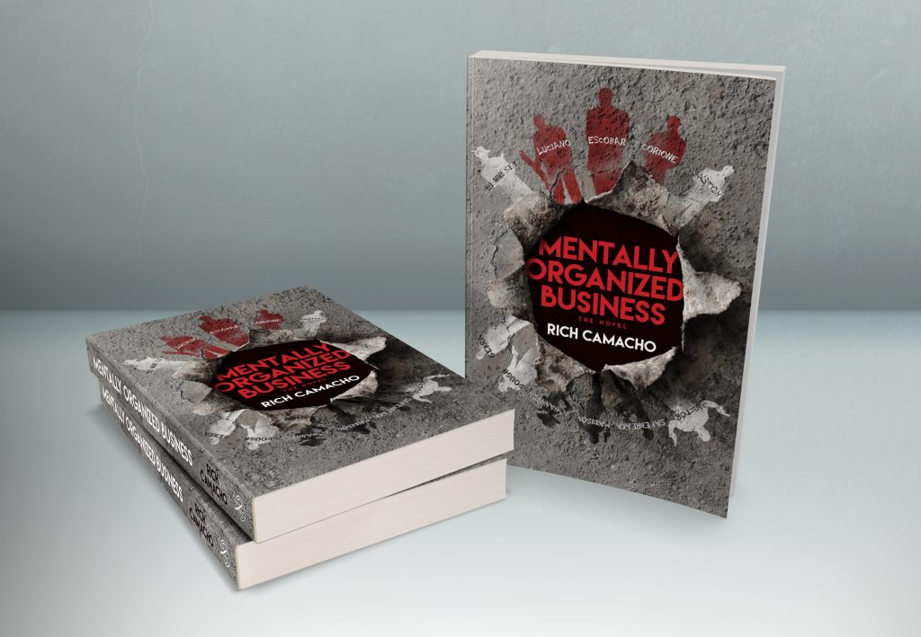 Cover Reveal: 'Mentally Organized Business' by Rich Camacho 2