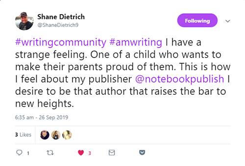 Notebook Publishing Testimonials 15