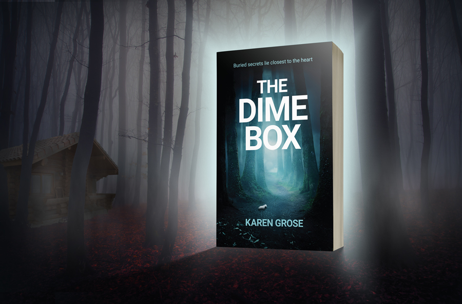 Cover Reveal: 'The Dime Box' by Karen Grose 2