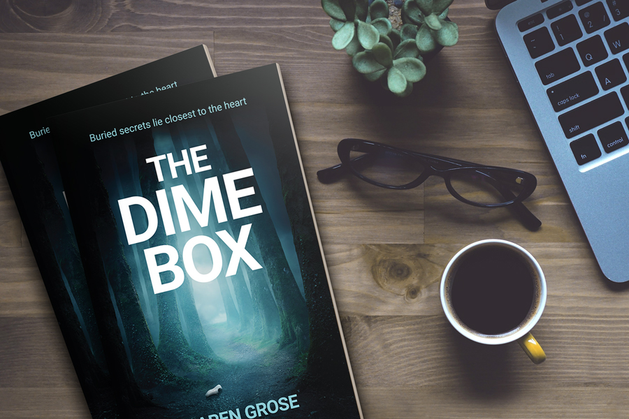 Cover Reveal: 'The Dime Box' by Karen Grose 3