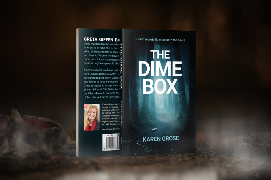 Cover Reveal: 'The Dime Box' by Karen Grose 1